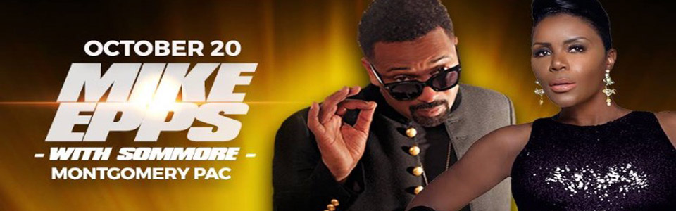 Comedian Mike Epps at the MPAC on October 20