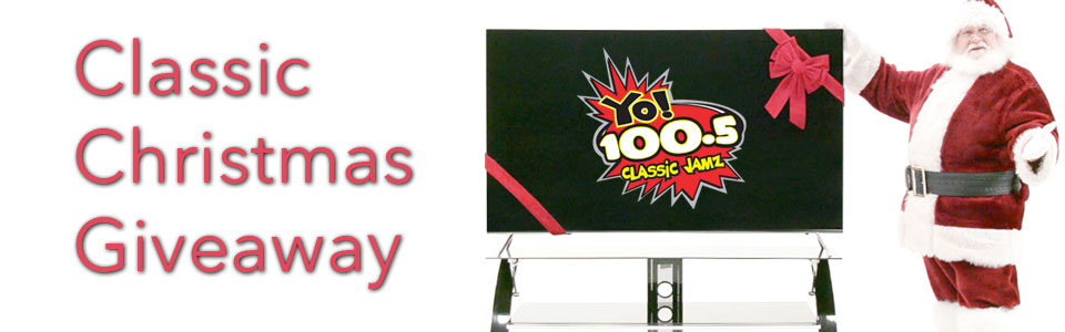 The Yo 100.5 Classic Christmas Giveaway