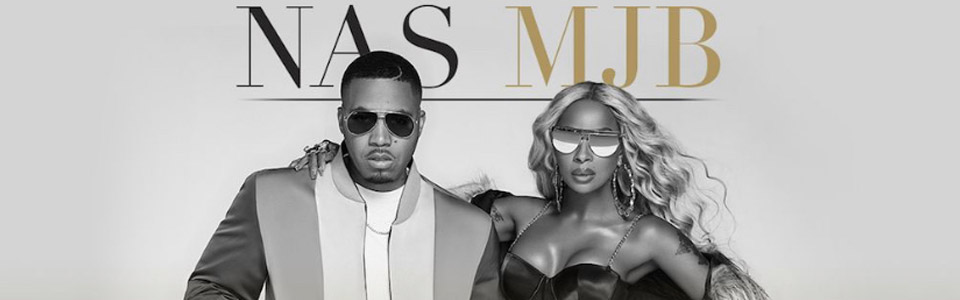 The Royalty Tour with Nas and Mary J. Blige at the Tuscaloosa Amphitheater on August 25