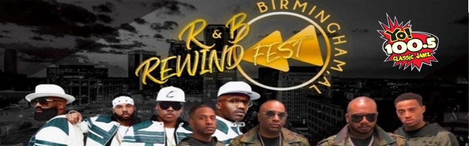 R&B Rewind Fest at the BJCC on March 29